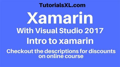 tutorial xamarin visual studio xamarin tutorial xamarin review and creating a new