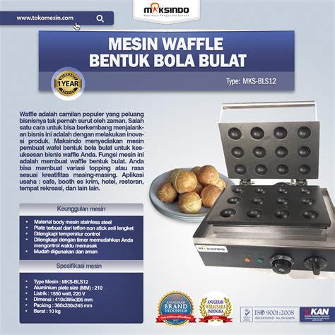Mesin Waffle jual mesin waffle bentuk bola bulat bls12 di tangerang