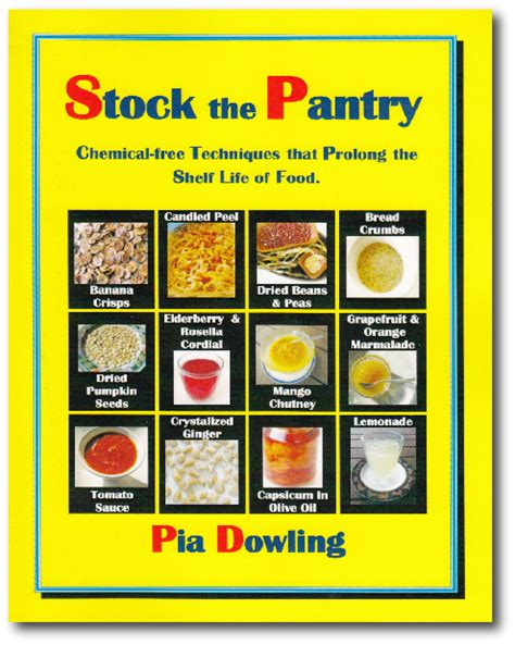 Pantry Book by About Pia Dowling