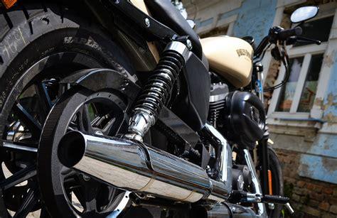 Motorrad Auspuff Knistert by Harley Davidson Sportster Iron 883 Das Motorrad F 252 R