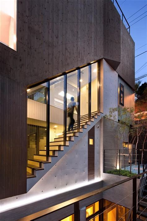 contemporary h house bachelor pad in south korea