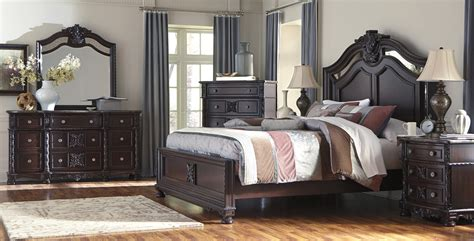 ashley furniture bedroom sets on black image andromedo