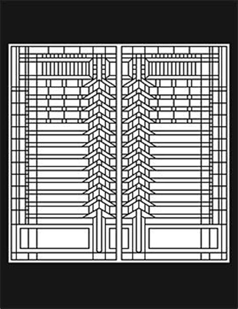 1000 Images About Glass Art By Frank Lloyd Wright On Frank Lloyd Wright Coloring Pages