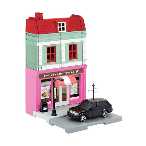 Harga Diorama Bag jual rmz city house diecast diorama set 1 64