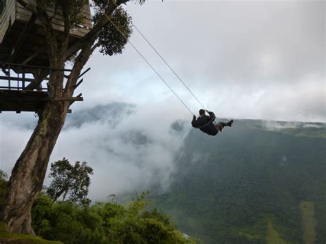 del swing the adventurous swing at casa del arbol ecuador world