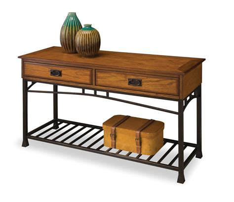 Sears Sofa Table by Home Styles Modern Craftsman Sofa Table