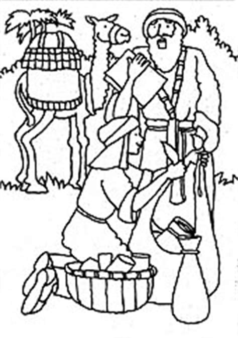 lds coloring pages lehi keeping promises liahona