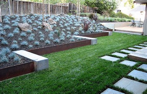 metal landscape edging ideas inexpensive landscape