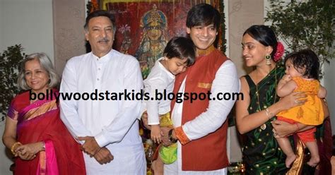 actor jai ganesh son bollywood star kids vivek oberoi celebrates ganesha