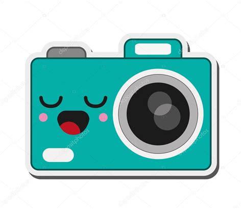 imagenes de iconos kawaii icono de c 225 mara fotogr 225 fica de kawaii archivo im 225 genes