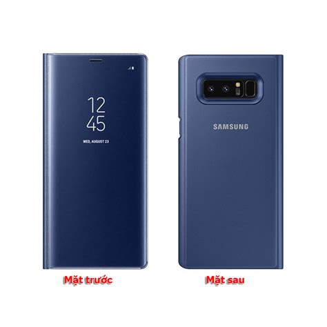 Samsung Clear View Standing Cover Galaxy Note 8 bao da clear view standing cover samsung galaxy note 8