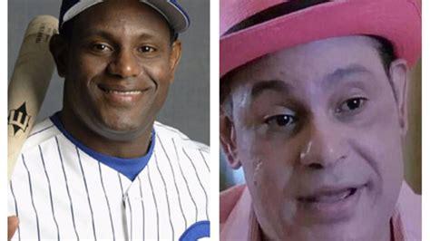 sammy sosa skin color baseball legend sammy sosa gets roasted on for