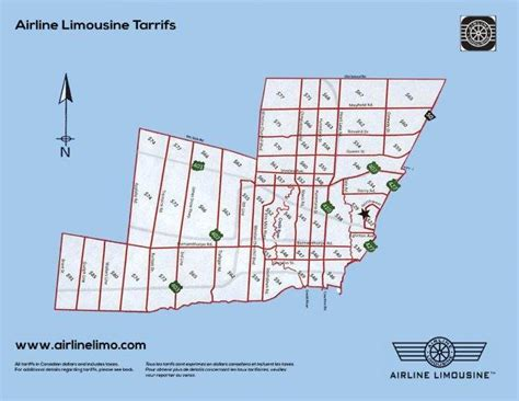 Airline Limousine by Toronto Airport Limo And Taxi Rates Airline Limousine