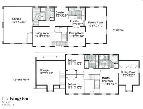 2 Story Ranch House Plans by Two Story Open Concept House Plans Andreacortez Info
