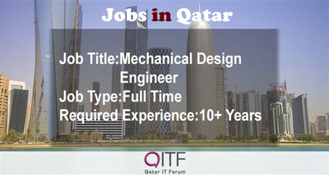 design engineer jobs qatar mechanical design engineer doha qatar qatar it forum