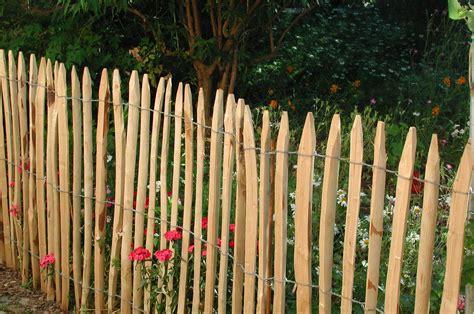 zaunarten bilder bilder vom kastanienzaun staketenzaun und sichtschutz aus