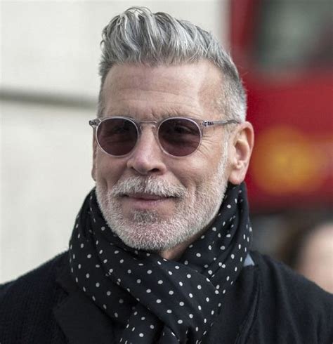 grayhair men conservative style hpaircut grijze baard niets om je voor te schamen b4men