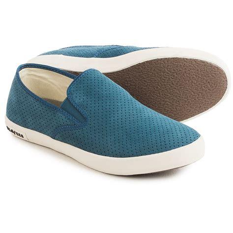 Azcost Slip On Suede 02 seavees 02 64 baja varsity sneakers for save 77