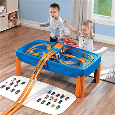 step 2 car table step2 174 wheels car and track play table