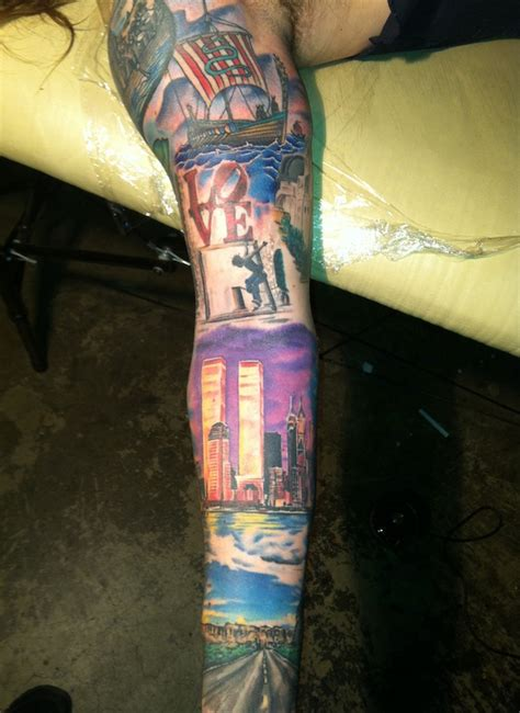 twin towers tattoo color gallery lifsey