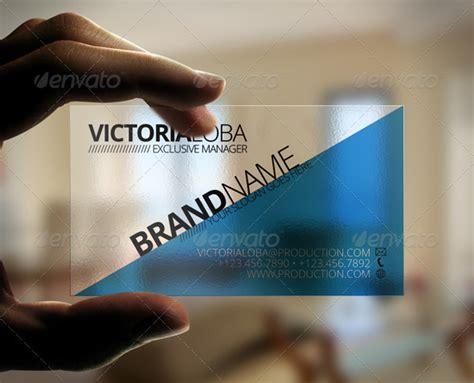 translucent business cards template transparent business cards template www pixshark