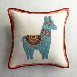 beaded llama pillow pier 1 imports