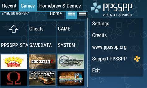 ppspp apk cara memainkan psp di android dengan emulator ppsspp apkandro