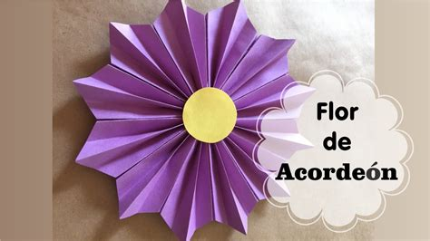 floreros para una flor c 243 mo hacer una quot flor de acorde 243 n quot flores de papel youtube