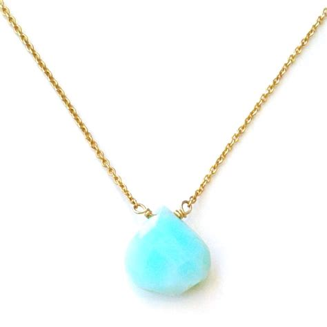 blue opal necklace sky blue opal necklace kula jewelry
