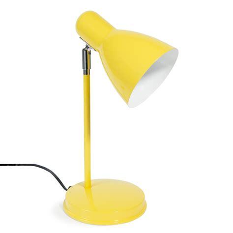 le de bureau jaune le en m 233 tal jaune h 35 cm ella maisons du monde