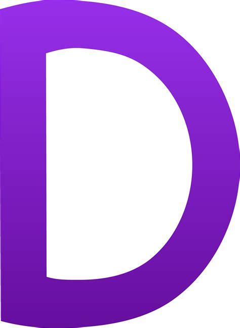The Letter D - Free Clip Art D