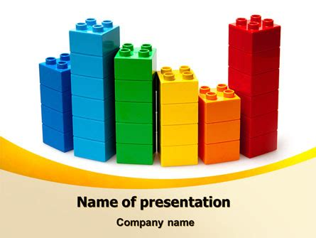Lego World Powerpoint Template Backgrounds 07788 Poweredtemplate Com Lego Powerpoint Template