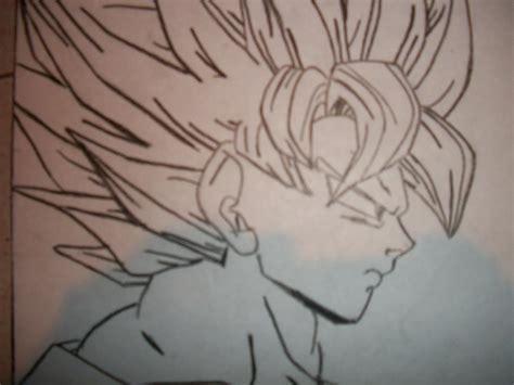 imagenes de goku en blanco y negro mis dibujos taringa