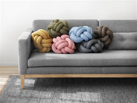 design house stockholm knot cushion knot cushion cushions from design house stockholm