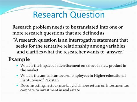 What Is A Or Question For A Quantitative Techniques In Business Ppt