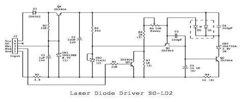 laser diode circuit design laser diode driver circuit schematic efcaviation