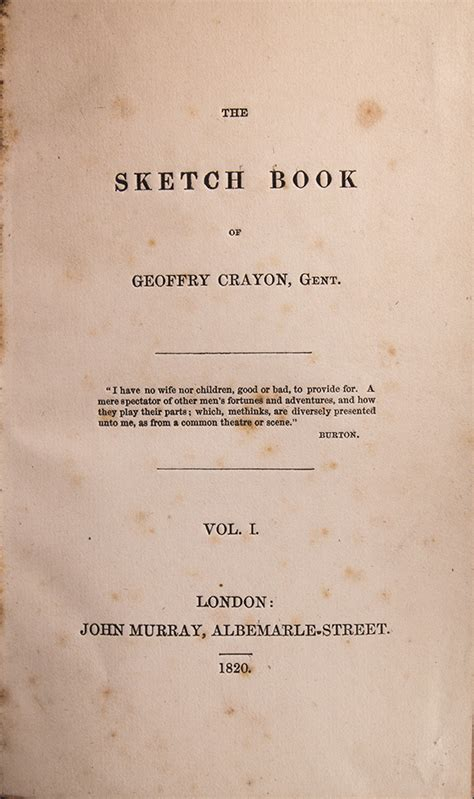 sketch book by washington irving edition of the sketch book of geoffrey