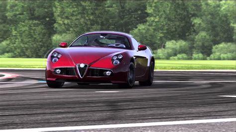 alfa romeo top gear alfa romeo 8c competizione top gear track
