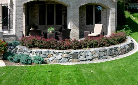 Dry Laid Patio Raised Planters Reflections From Wandsnider Landscape