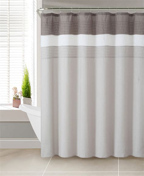 Sears Shower Curtain by Colormate Regan Shower Curtain Taupe Home Bed Bath