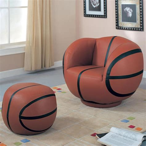 Chair For Boys Bedroom | cool basketball bedroom furniture theme design and decor