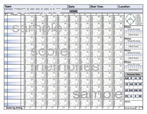 baseball score sheet template search results for printable baseball score sheets pdf