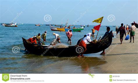 fishing boat price kerala fishing boats at marari beach kerala india editorial