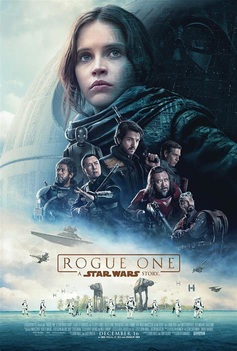 star wars rogue one rogue one a star wars story 2016 poster 1 trailer addict
