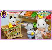 Sylvanian Families Calico Critters Supermarket Setup And Play  Kids