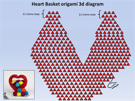 3d Origami Diagrams Free - 496 best origami block folding 3d origami images on