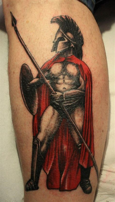 roman gladiator tattoos spartan warrior 300 spartan