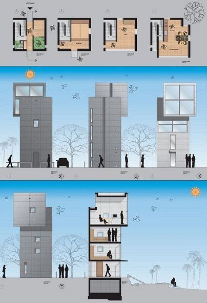 tadao ando 4x4 house plans 4x4 house tadao ando plan elevation section tadao ando pinterest tadao ando