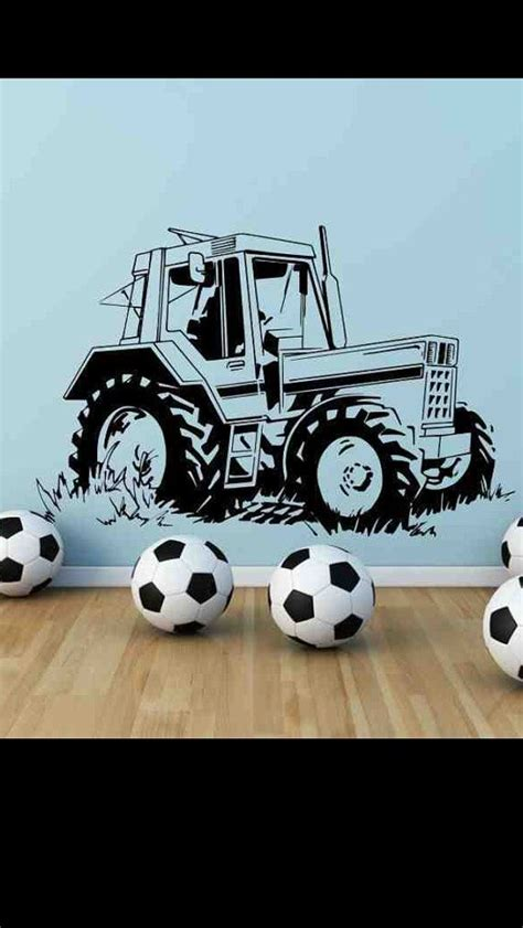 tractor wall stickers 17 best images about johnny s tractor bedroom ideas on