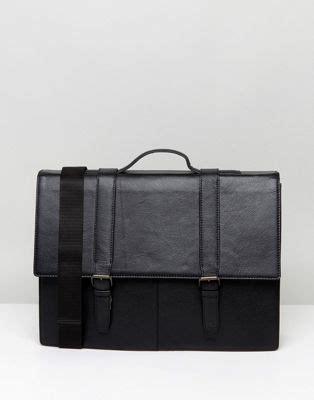 Asos Satchel In Black Leather asos asos satchel in black leather